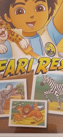 GO DIEGO GO! SAFARI RESCUE (Nintendo Wii + Wii U) for Sale in Lewisville,  TX