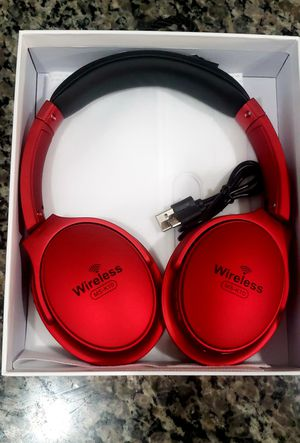 Brand New in Box Wireless High Quality Overhead Bluetooth Stereo Extra Bass Headset Headphones Like Beats Compatible with any bluetooth device for Sale in East Orange, NJ