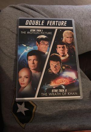 Star Trek double feature for Sale in Wichita, KS