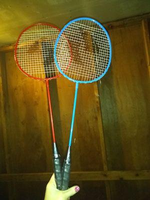 Tennis rackets & 2 birdies for Sale in Portland, OR