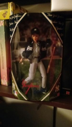 New york yankee barbie for Sale in Kirkersville, OH