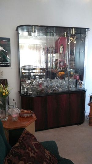 Large contemporary Style China Cabinet for Sale in Greensboro, NC