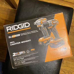 Ridgid 18V Combo Kit for Sale in Los Angeles, CA