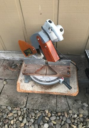 Table saw and miter saw for sale for Sale in Brooks, OR