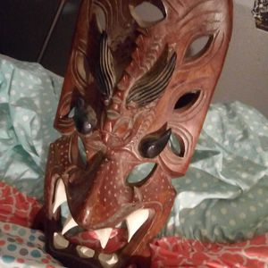 NativePacific Islander ForTile Mating Mask for Sale in Antioch, CA