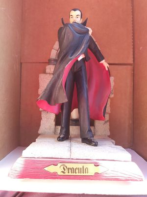 Dracula action figure statue collectable for Sale in Casa Grande, AZ