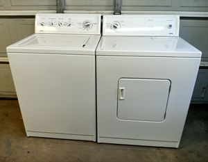 Kenmore Heavy Duty Electric Washer & Dryer Set *Will Deliver* for Sale in Sacramento, CA