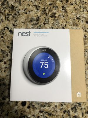 Gently used nest 3rd gen thermostat for Sale in Ruskin, FL