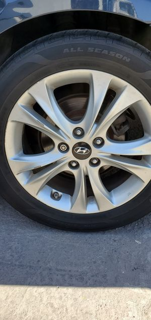 Elantra rims, Tucson rims, Santa fe rims, accent rims, sonata rims, Hyundai wheels for Sale in Anaheim, CA