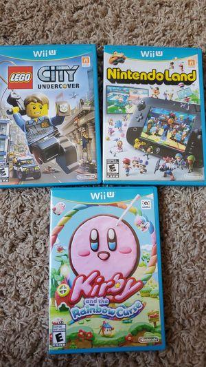 Nintendo Wii U games. for Sale in Chula Vista, CA