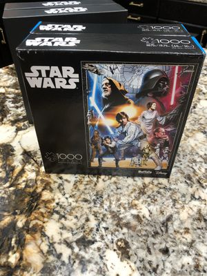 Buffalo Games & Puzzles Star Wars A New Hope 1000 Piece Jigsaw Puzzle for Sale in Cooper City, FL
