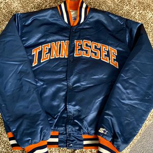 Vintage Tennessee Volunteers Satin Starter Jacket Size Large Rare for Sale in Stockton, CA