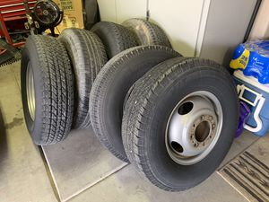 (9) One Ton Dually or Trailer Wheels & Tires for Sale in Queen Creek, AZ