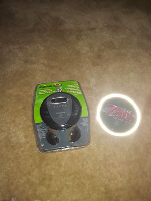 CD player &case for Sale in Washington, DC