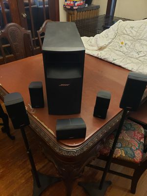Bose Acoustimass 10 Surround Sound System for Sale in Calumet Park, IL