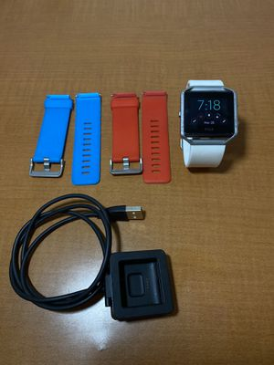 Fitbit Blaze with 3 Bands + Charger for Sale in DC, US