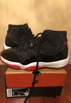 Jordan 11 bred size 9 for Sale in Prospect Park, PA