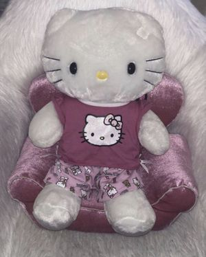 Hello kitty build a bear with chair for Sale in Kissimmee, FL
