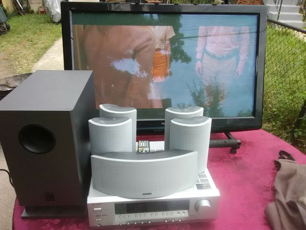 Panasonic Smart TV with onkyo surround sound bundle