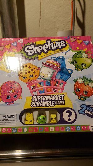 Shopkins Supermarket Scramble Game for Sale in Livonia, MI