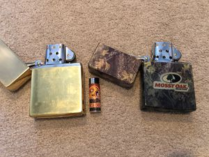Large zippo type lighter for Sale in Moreno Valley, CA