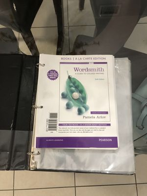 Wordsmith: A Guide to College Writing 6th edition for Sale in Miami, FL