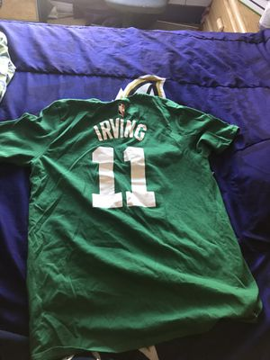Kyrie Irving Celtics T Shirt Jersey for Sale in COCKYSVIL, MD