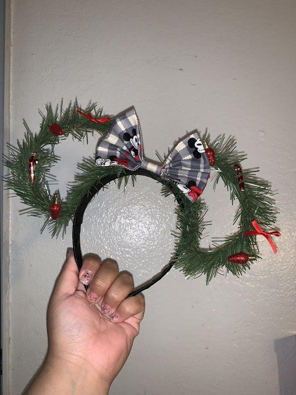 Christmas themes Mickey Ears