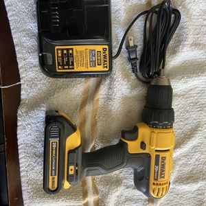 Dewalt 20volt Drill Driver , Battery End Charger New /Nuevo for Sale in Henderson, NV