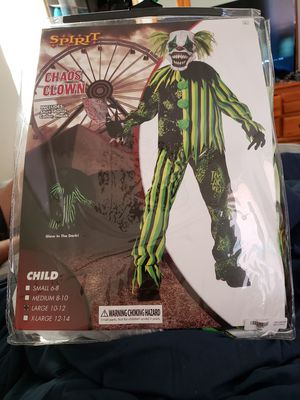 Chaos kids costume sz Large 10-12 for Sale in Portland, OR