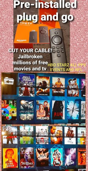 Firestick jailbroke for Sale in Penn Hills, PA