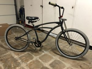 Beach Cruiser Del Sol Shoreliner with Felt Parts Men's Bike Bicycle Tires Handlebars Seat for Sale in San Diego, CA