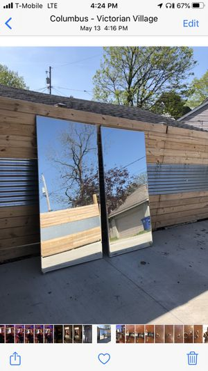 Large mirror doors for Sale in Columbus, OH