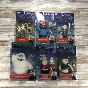 Rudolph & The Island of Misfit Toys Action Figure Set for Sale in Allentown, PA