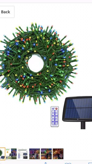 Updated solar lights outdoor 200led for Sale in White Marsh, MD