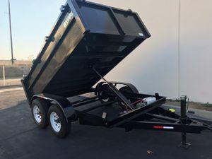 Dump trailer 8x10x2 for Sale in San Fernando, CA