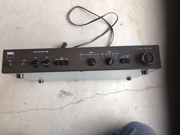 NAD 1155 Pre-Amp & NAD 2155 Power Amp for Sale in Tacoma, WA - OfferUp