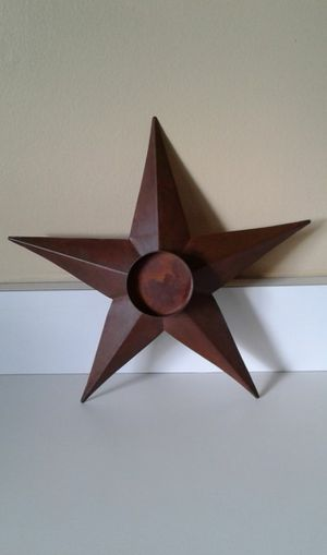 Star Candle Holder/Home Decor for Sale in Flossmoor, IL