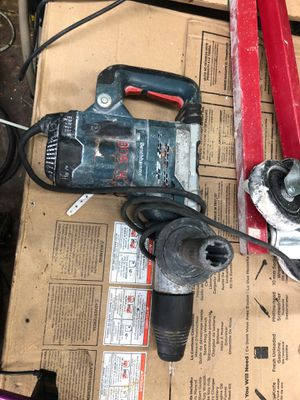 Bosch chipping hammer hammer drill Electric chisel concrete chipper for Sale in Miami, FL