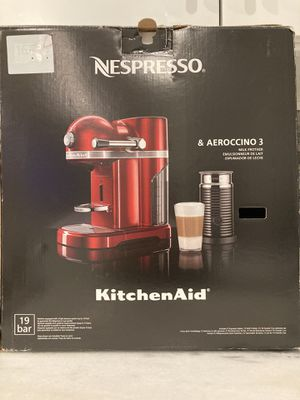 Nespresso Bar 19 and Aeroccino 3 Milk Frother for Sale in Fort Lauderdale, FL