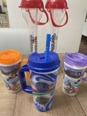 Disney, Universal and Legoland refillable cups for Sale in Pompano Beach, FL