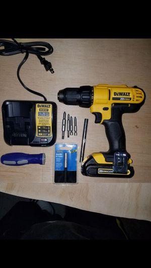 New dewalt 20v MAX drill/driver kit 2 speed for Sale in Ashburn, VA