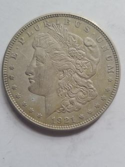 1921 MORGAN SILVER DOLLAR VERY DETAILED for Sale in Chicora,  PA