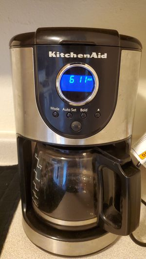 Kitchen Aid coffee maker for Sale in Ottumwa, IA