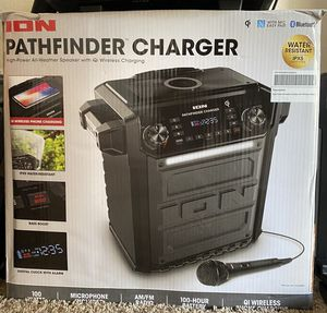 Ion Pathfinder Bluetooth Speaker W/ Qi Wireless Charger for Sale in Fresno, CA