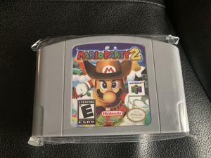 Mario Party 2 Nintendo 64 (Reproduction) USA Version for Sale in Wesley Chapel, FL