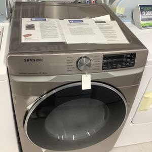 Samsung Champagne Front Load Dryer Brand New for Sale in Pompano Beach, FL