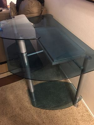Glass Computer Desk for Sale in Santee, CA