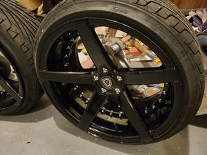 "Brand new 20"" rims and tires 5x112 for Sale in Alpharetta, GA"