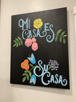 Hand painted sign. Local artist. for Sale in Miami, FL